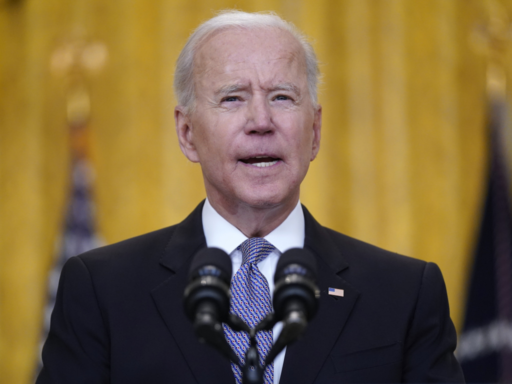 President Joe Biden's finances took hit over 2020 according to income tax filings released by the White House on Monday.