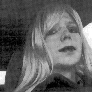 The soldier formerly known as Bradley Manning was dressed as a woman in this 2010 photograph.