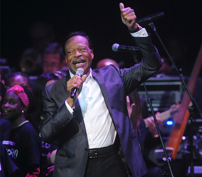 Edwin Hawkins attends the Apollo Theater Spring Gala and 80th Anniversary Celebration  at the Apollo Theater on Monday, June, 10, 2014 in New York City.