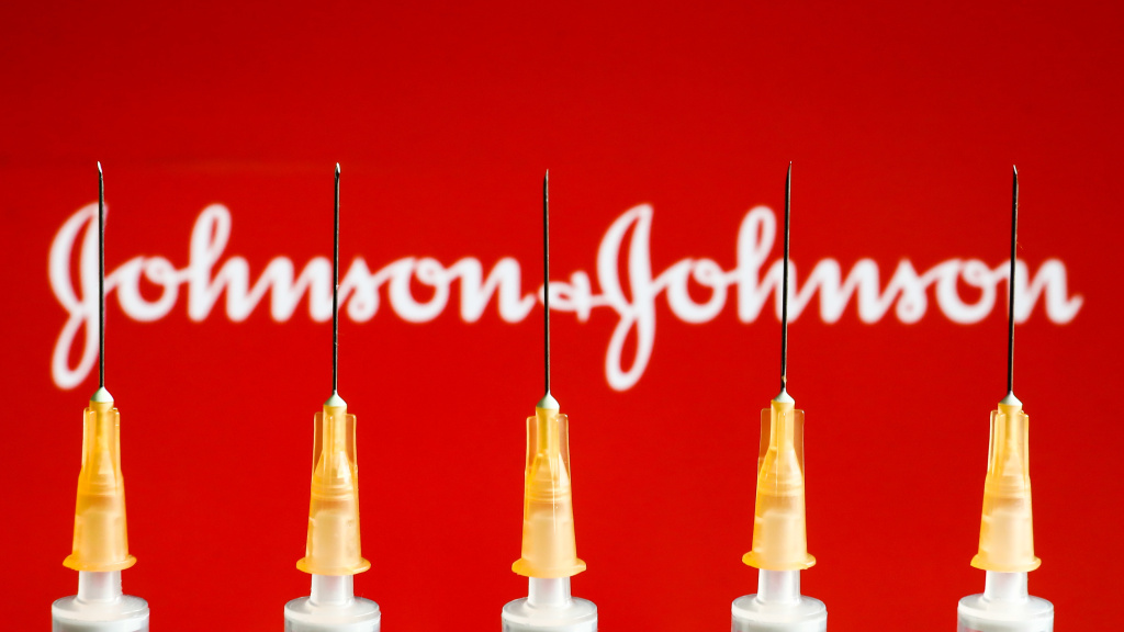 Johnson & Johnson was mentioned roughly the same amount every hour online Tuesday as it was in entire weeks prior, according to the tracking firm Zignal Labs.