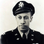 This July 1943 photo provided by the Los Angeles Chapter, Tuskegee Airmen Inc., shows Lowell C. Steward after his graduation from flight training at Tuskegee Army Air Field, in Tuskegee, Ala. Steward, who won the Distinguished Flying Cross among other awards, died on Wednesday at age 95.