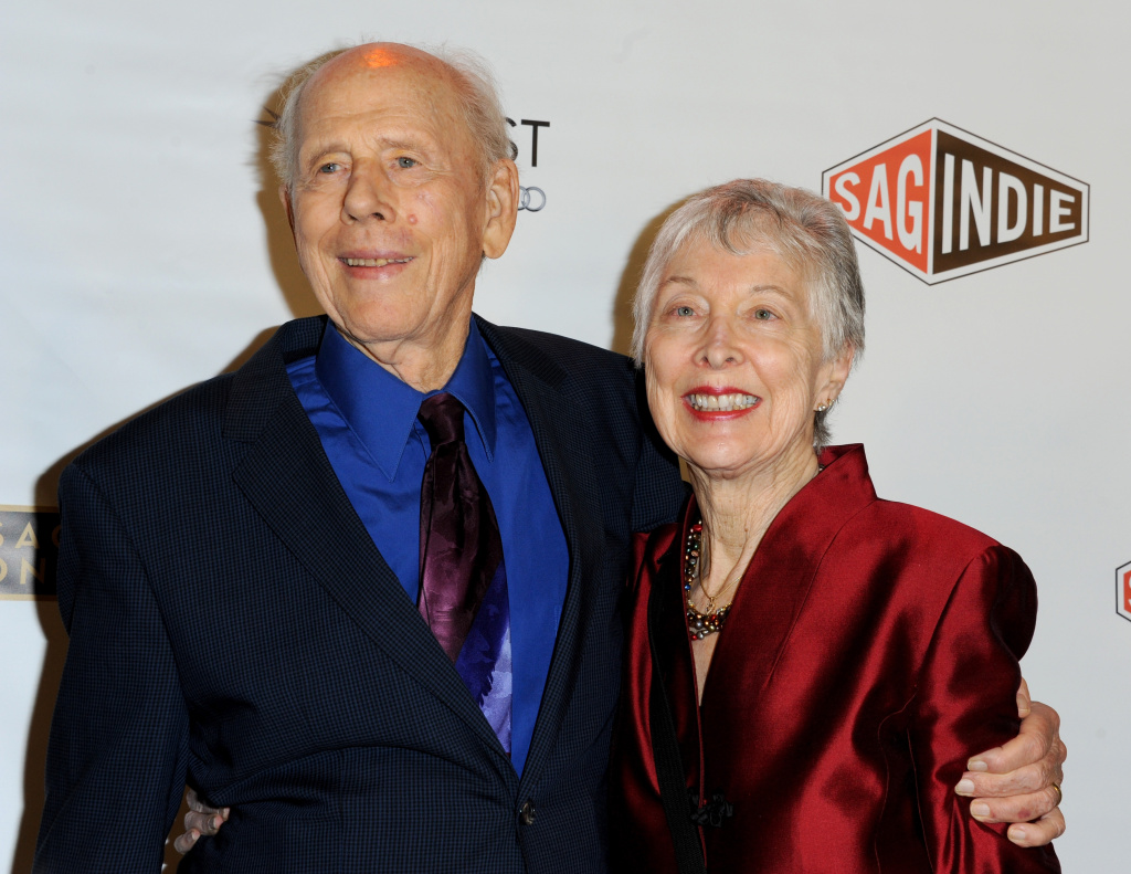 Actor Rance Howard (L) and Judy Howard attend the Tribute to Bruce Dern on November 11, 2013 in Hollywood, California.