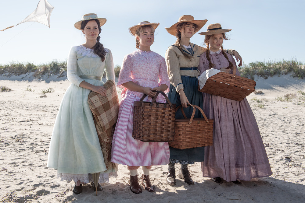 Emma Watson, Florence Pugh, Saoirse Ronan and Eliza Scanlen star in 'Little Women.'