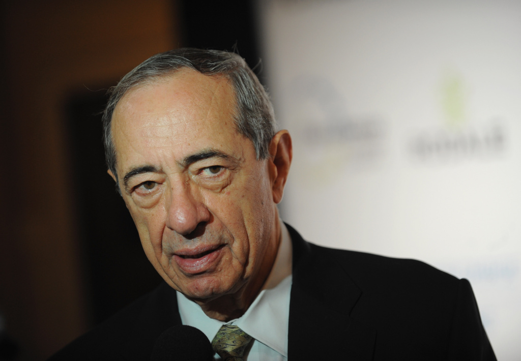 Ex-governor Mario Cuomo at the American Museum of Natural History on November 3, 2009 in New York City.