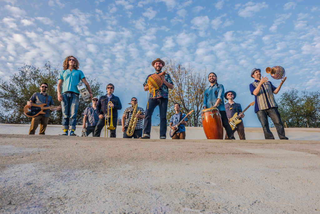 "The ten-piece band, Jungle Fire, describes its sound as ""Tropi-funk."""