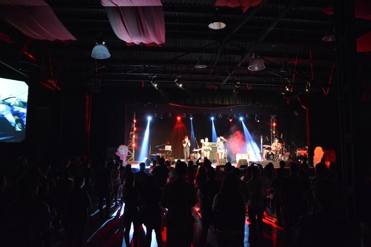 The Brazilian band Francisco El Hombre was a standout act at FIMPRO in Guadalajara, Mexico.