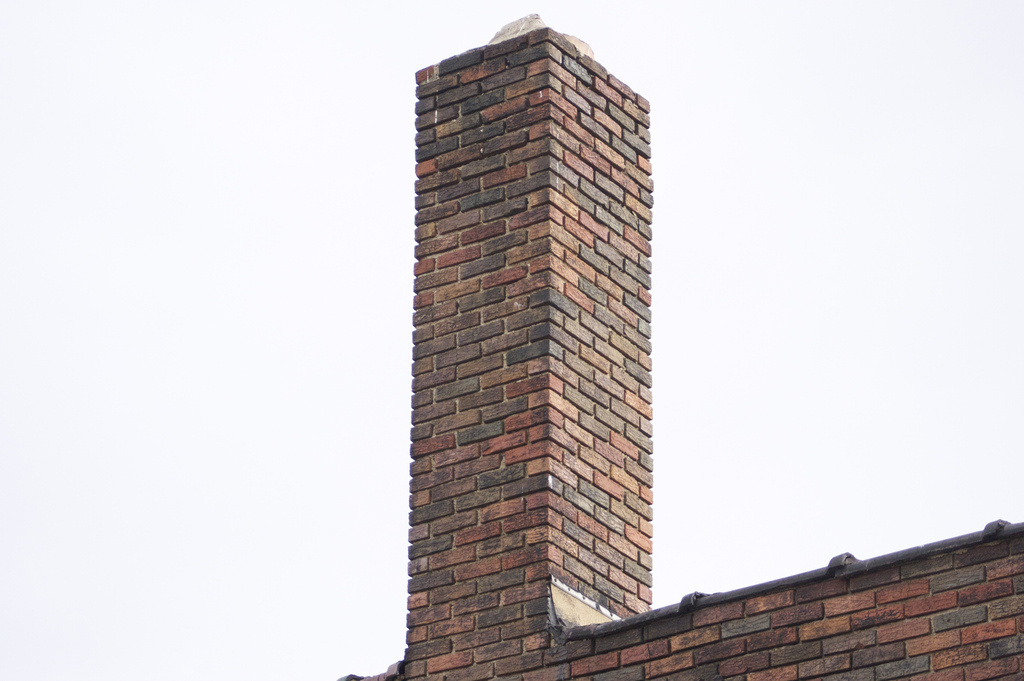 File: Chimney from some abandoned warehouse