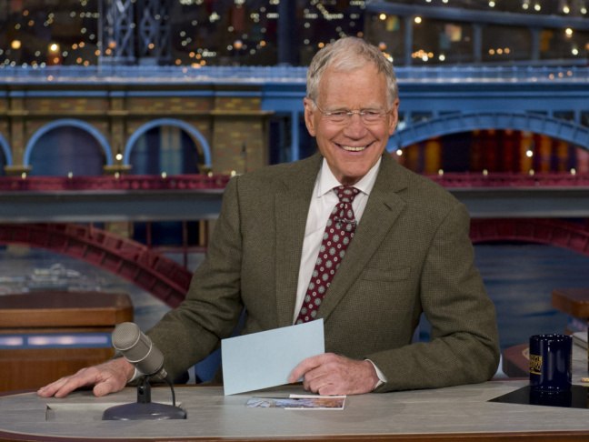 David Letterman announced his retirement on Thursday night, but Twitter got to it first.