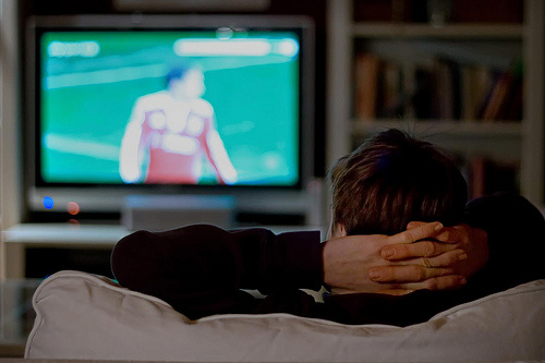 A new study suggests that young men who watch at least 20 hours of TV weekly may have a sperm count that's 50 percent less than that of their counterparts who watch very little.