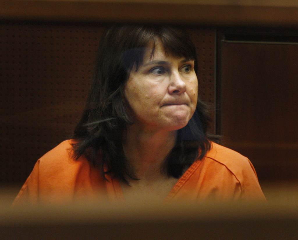Veteran LAPD detective Stephanie Lazarus, 49, appears at the Criminal Justice Center for her arraignment on murder charges June 9, 2009 in Los Angeles, California.
