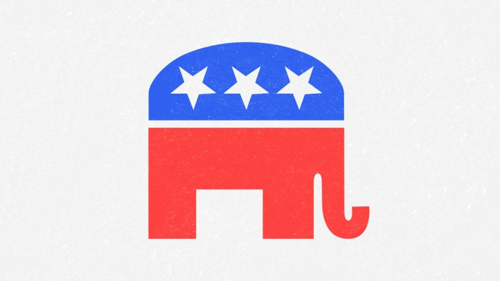 The Elephant logo for the Republican Party