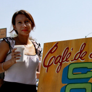 Café de Leche owner Anya Schodorf grew up in Managua, Nicaragua, and came to the U.S. when she was 14.