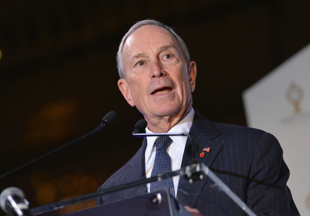 New York City Mayor Michael Bloomberg attends Grand Central Terminal 100th Anniversary Celebration at Grand Central Terminal on February 1, 2013 in New York City.