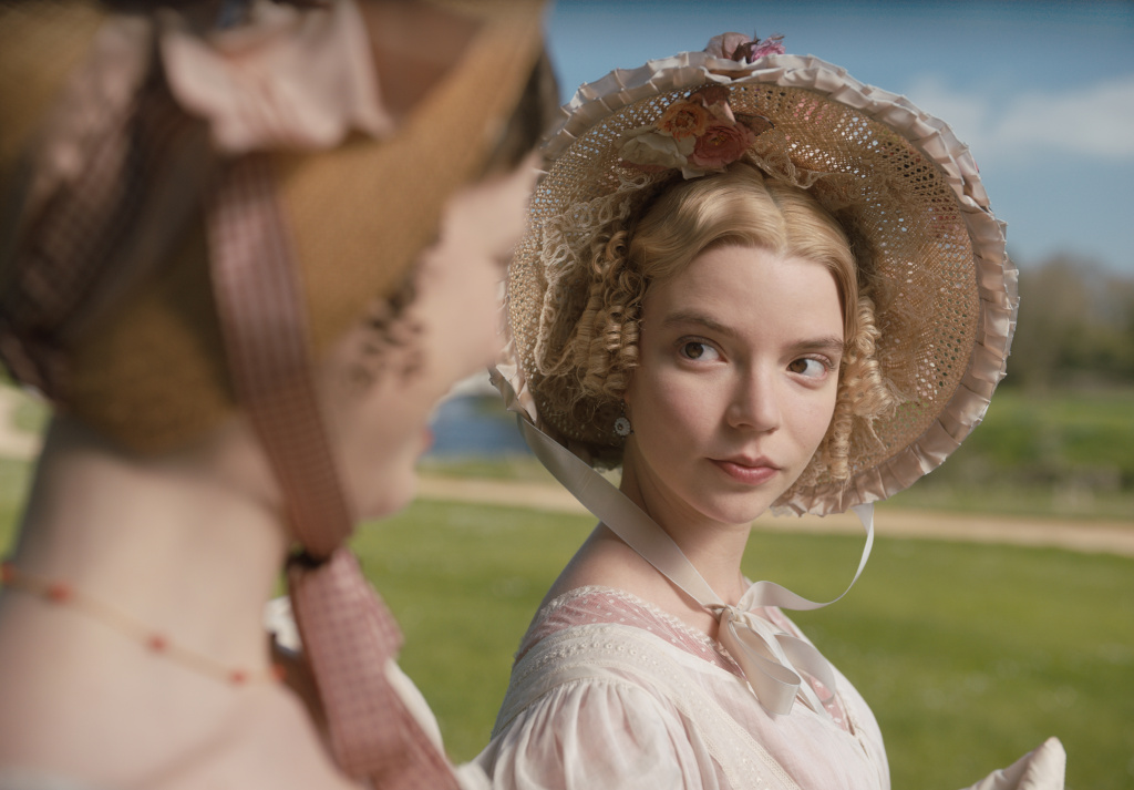 Anya Taylor-Joy stars as Emma Woodhouse  in