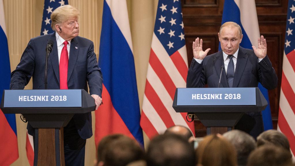 President Trump said of Russian President Vladimir Putin,