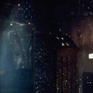 Still from 1982 sci-fi classic 'Blade Runner', which is set in 2019 Los Angeles.