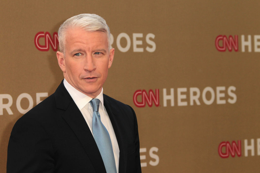 Television reporter Anderson Cooper attends the CNN Heroes: An All-Star Tribute at The Shrine Auditorium on December 11, 2011 in Los Angeles, California.