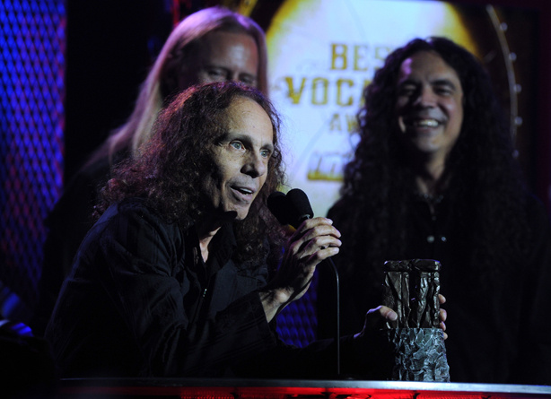 Ronnie James Dio died at at 67 on Sunday, May 16, 2010. Dio announced last fall he was suffering from stomach cancer.