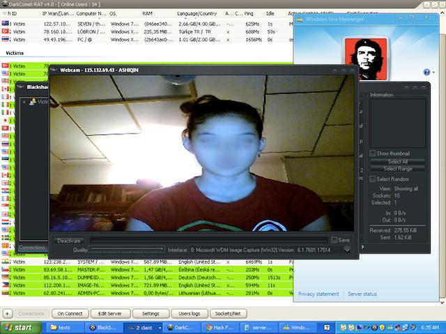 Web Cam Hacking