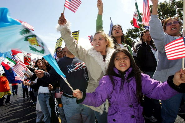 Protestors March Against Proposed Immigration Legislation