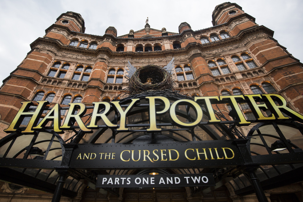 The Palace Theatre in London's West End is hosting
