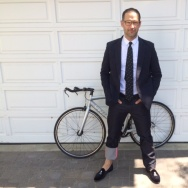 Tom Smuts, Emmy-nominated 'Mad Men' writer Bikes to Awards