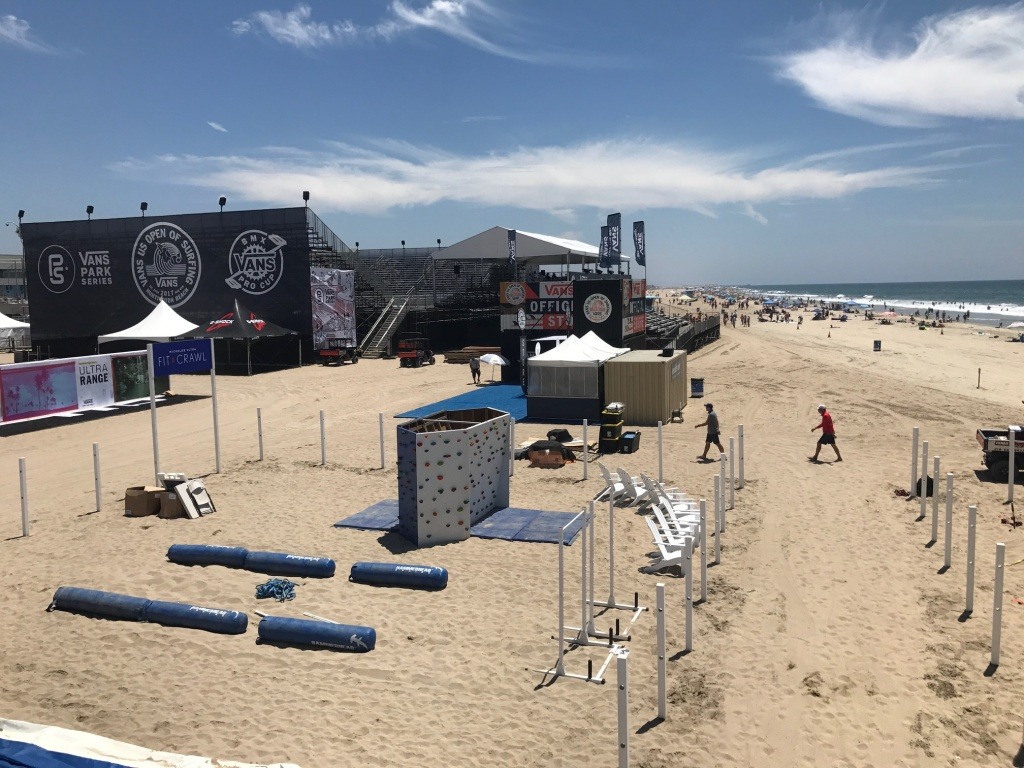 The US Open of Surfing starts July 29 in Huntington Beach. Some of the  world's