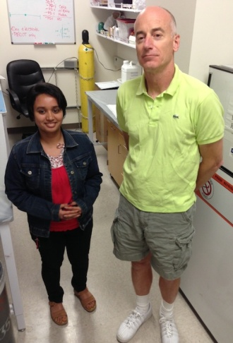 Kritika Mohan and Reginald Penner