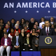 Obama Gives Speech On Economy In Virginia