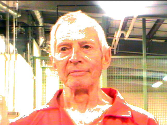 File: In this handout provided by the Orleans Parish Sheriffs Office, OPSO, Robert Durst poses for a mugshot photo after being arrested and detained March 14, 2015 in New Orleans, Louisiana. Family member of a prominent New York City real estate empire and subject of a HBO series, Durst was arrested on a  first-degree murder warrant issued by police in Los Angeles related to the death of his friend, Susan Berman.