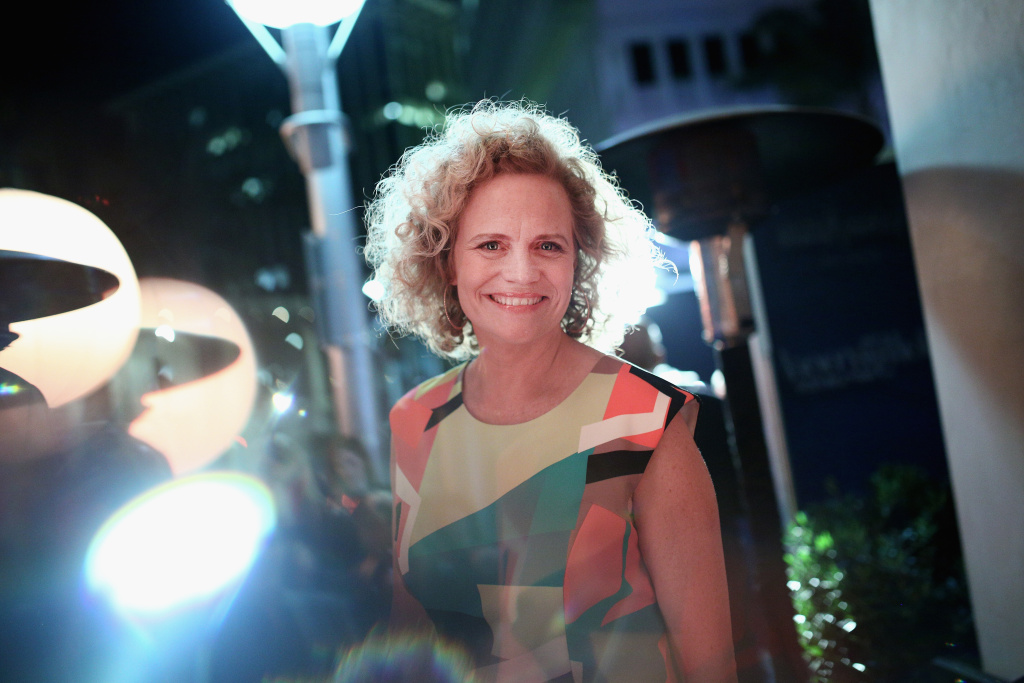 Screenwriter Meg LeFauve at The Hollywood Reporter's annual nominees night.