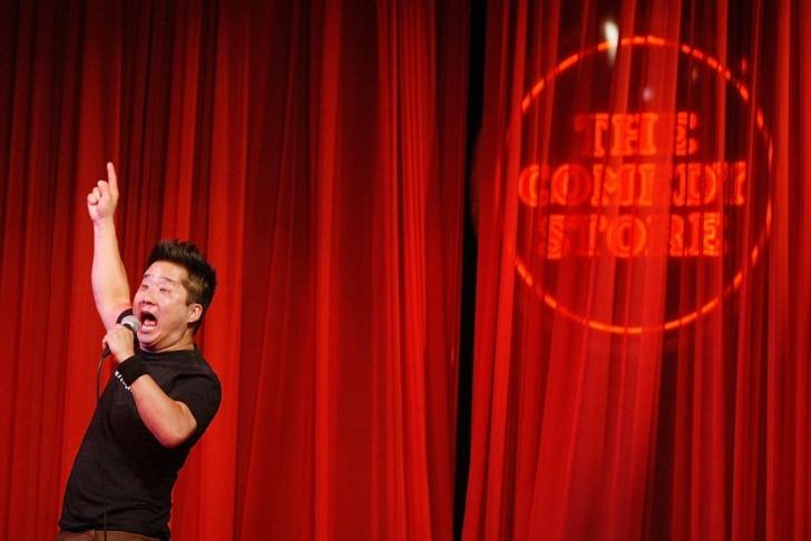 Bobby Lee Performs At The Comedy Store