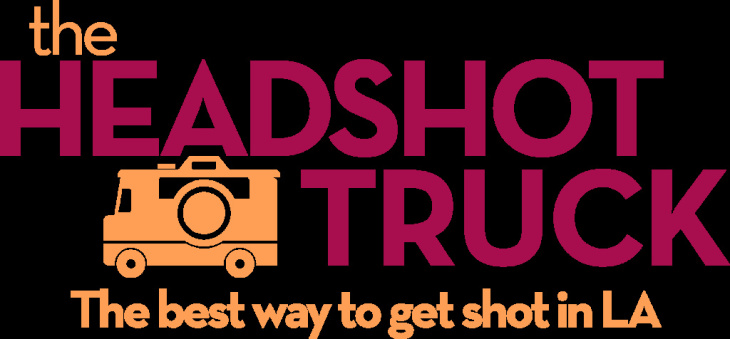 Headshots taken inside The Headshot Truck.