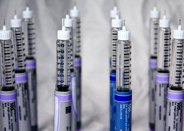 Insulin. A new poll indicates that one in eight Americans has type 2 diabetes, and that only 21 percent consider themselves well-versed on the disease. (Heather Aitken/Flickr Creative Commons)