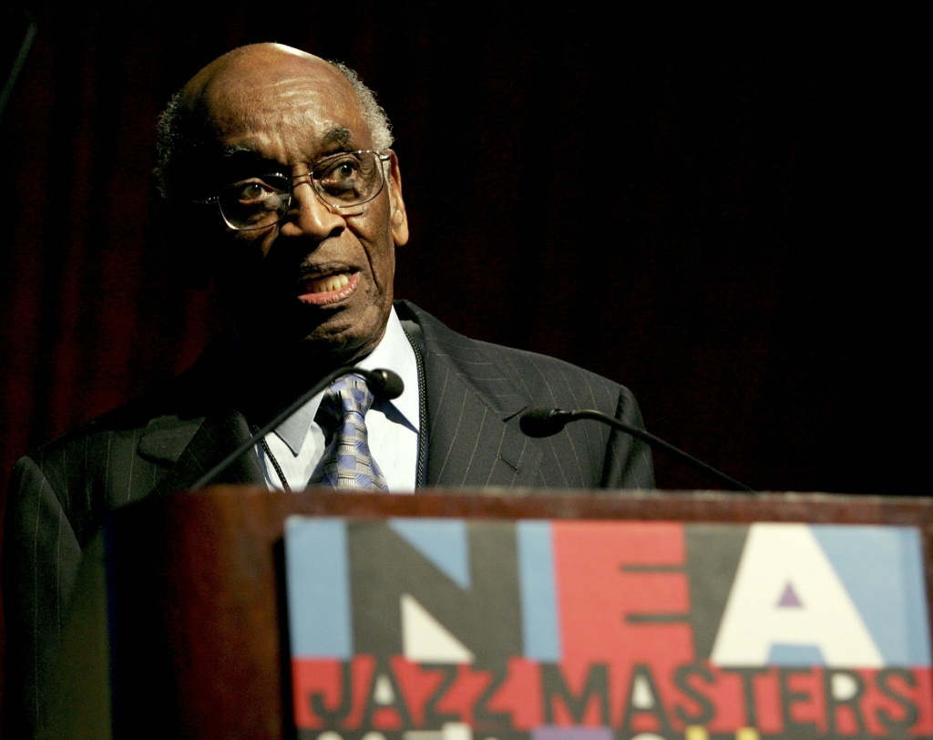 The late John Levy speaking at the 2006 National Endowment for the Arts Jazz Masters Gala.