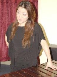 Marimbist Naoko Takada has her own line of marimba mallets.