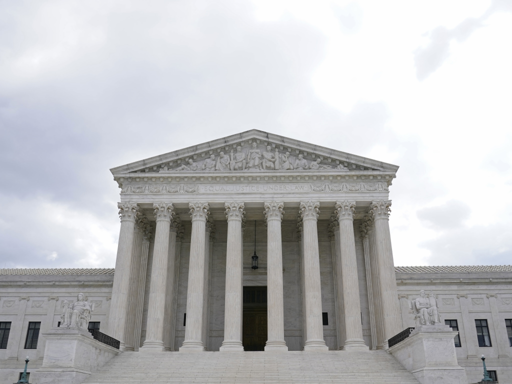 The Supreme Court has declined to hear an appeal brought by a brain-damaged inmate who wants to be executed by firing squad. The court's s three liberal justices strongly dissented.