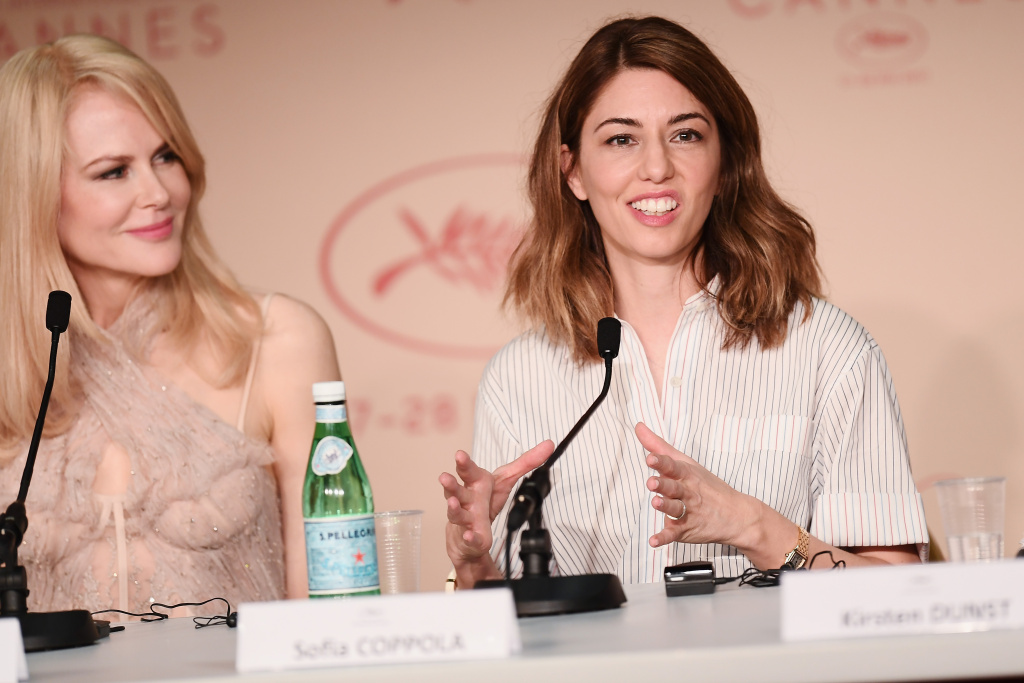 Actress Nicole Kidman and director Sofia Coppolla attend the