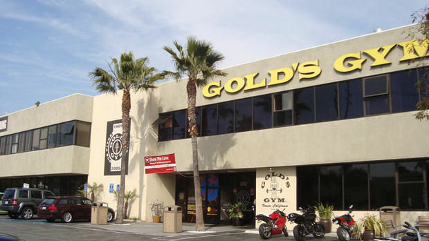 Gold's Gym - considered by many to be the mecca of gyms