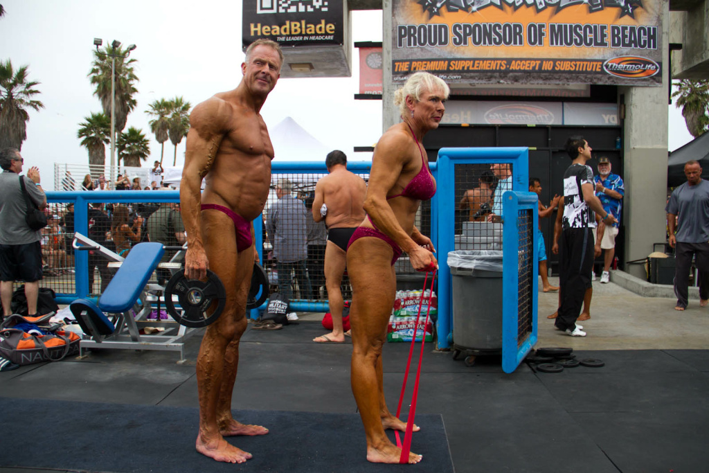 Annual Mr And Mrs Muscle Beach Contest Kicks Off At The Venice Boardwalk 89 3 Kpcc