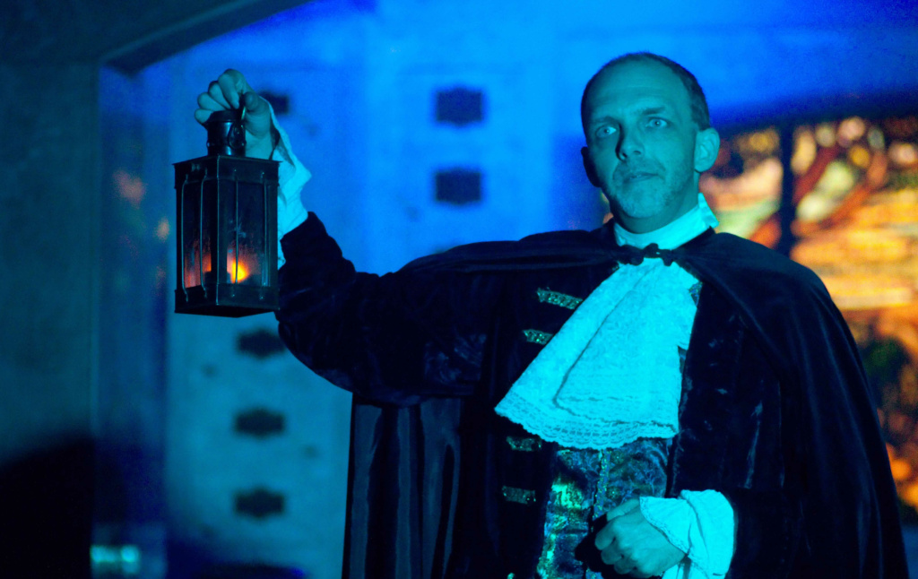Brian David Pope in last year's production of The Cask of Amontillado.
