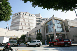 File photo: The Men's Central Jail in downtown Los Angeles.