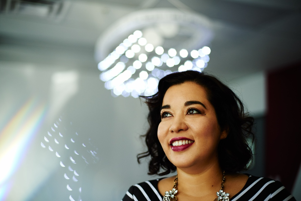 File: Noramay Cadena is an MIT-trained engineer who's co-founder and managing director of Make in L.A., a hardware accelerator in the San Fernando Valley.