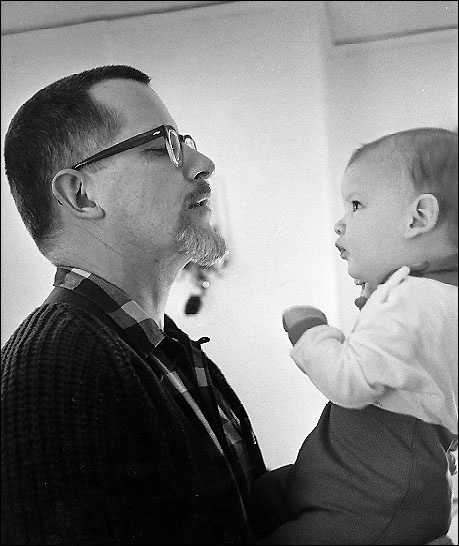 John Rabe (with father W.T. Rabe) was born in 1966