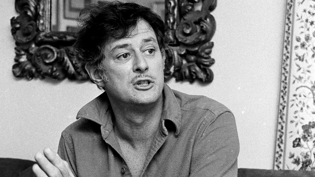 Frank Deford in 1984. He would go on to spend another 33 years as a commentator on Morning Edition.
