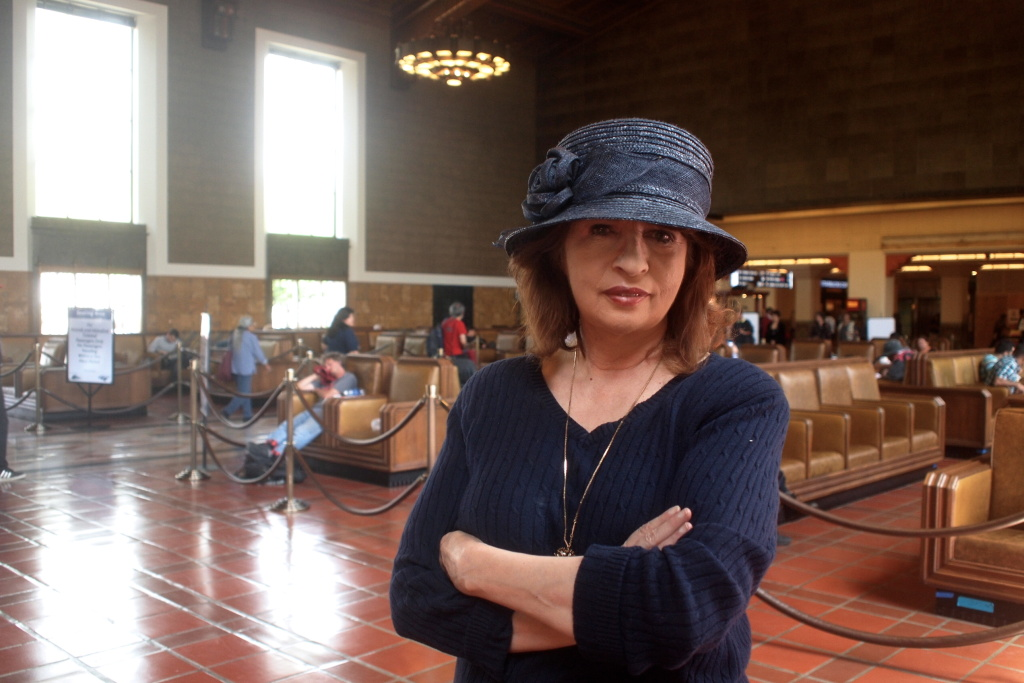 KPCC's Patt Morrison at Union Station