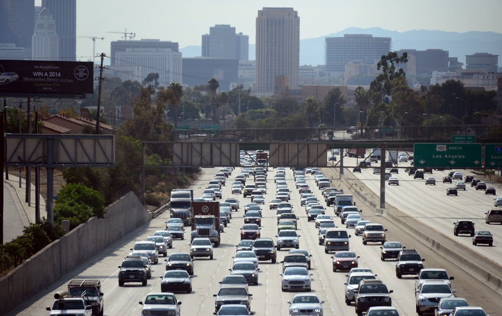 Road and freeway closures can be a part of weekend traffic.
