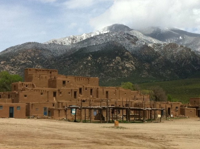 The Taos Pueblo, May 2011. (File photo)