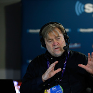 Stephen K. Bannon talks with callers about Donald Trump officially becoming the Republican Presidential nominee. Bannon has bragged that his site has become a platform for the alt-right.