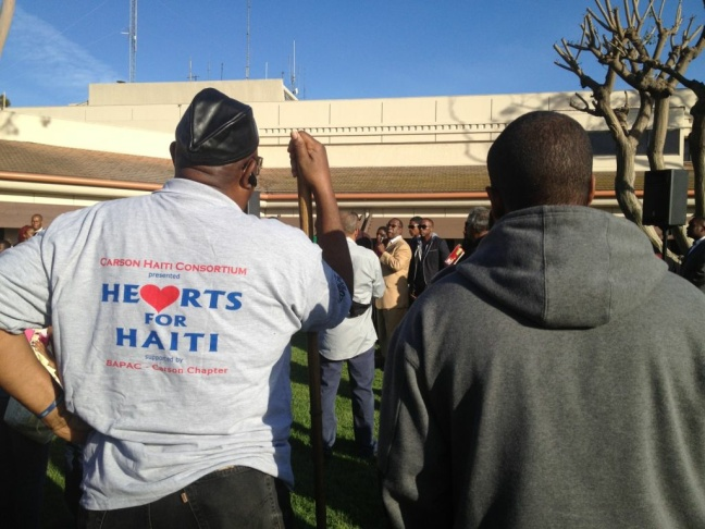 Many of those gathered at Carson City Hall were pastors or representatives from the Nation of Islam.